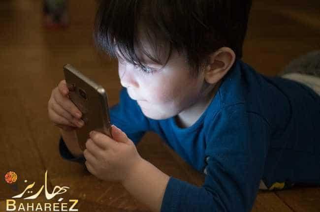 أخطر أضرار الهاتف على الأطفال